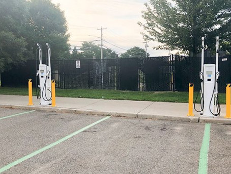 Brookhaven installs two car charging stations in Mount Sinai with more to come