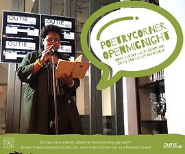 WnS: Poetry Corner Open Mic