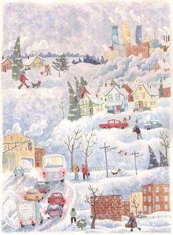 Minneapolis Snow Day