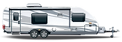 RV Storage - Mid-size Holiday Trailer