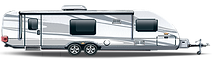 RV Storage - Large Holiday Trailer