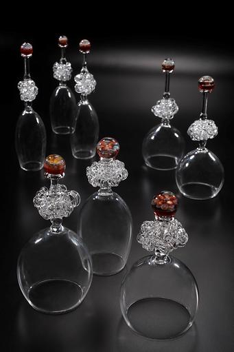 축복 borosilicate glass, 80x80x180mm 2013