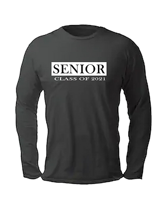 "Long Sleeve ""Senior "" T"