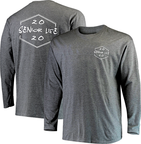 senior life long sleeve front and back++