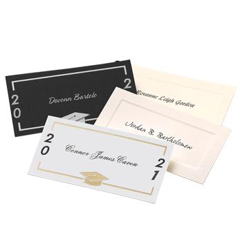 Modern Grad Name Cards