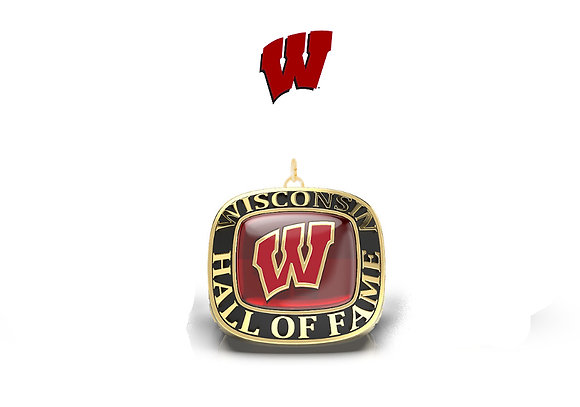 UW Hall of Fame pendent