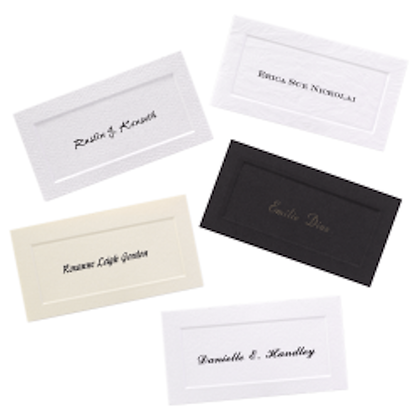 Traditional Name Cards
