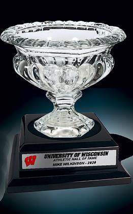 UW Hall of Fame Crystal Bowl