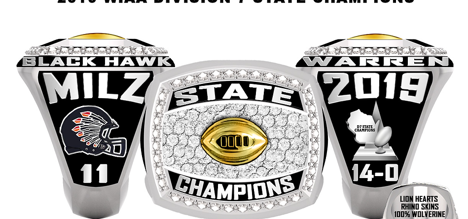 2019 Black Hawk - Warren Champ ring