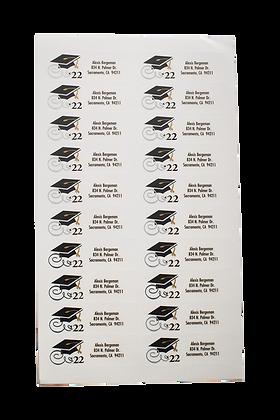Return Address Labels --