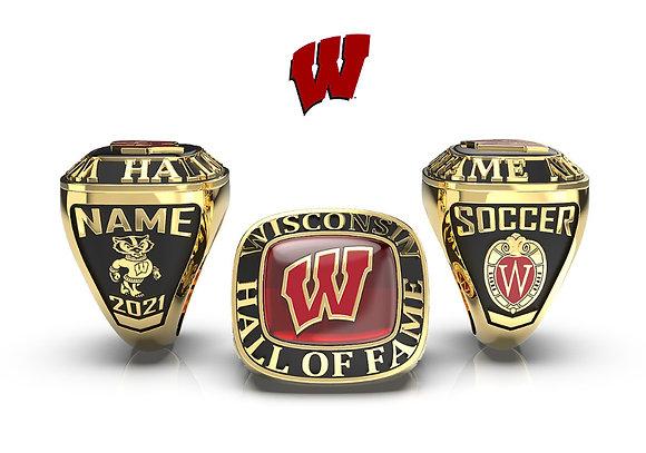 UW Hall of Fame ring for women