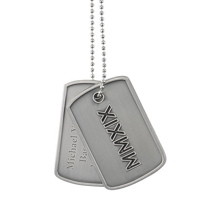 Senior Dog Tag