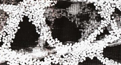 Darkroom Print of Details in Textured Ribbon