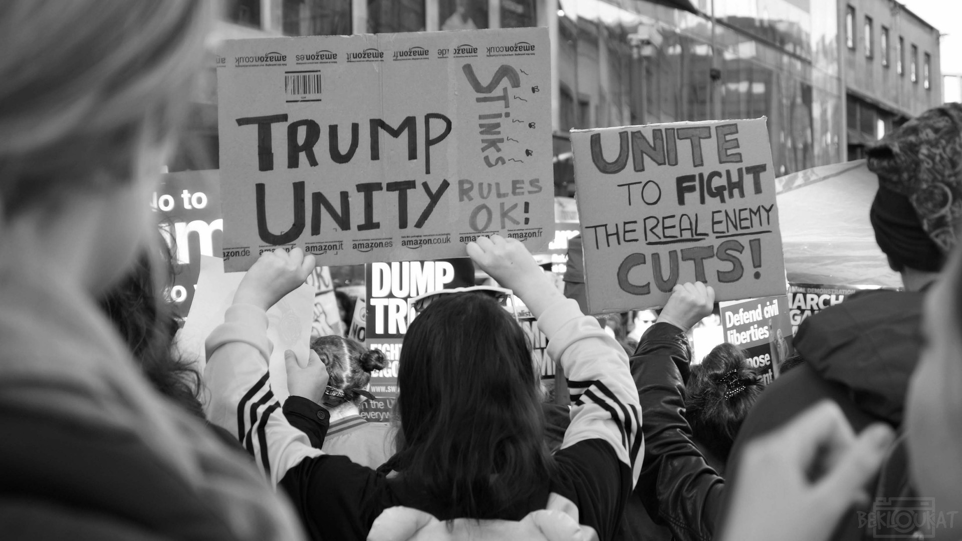 """Trump Stinks, Unity Rules OK!"""