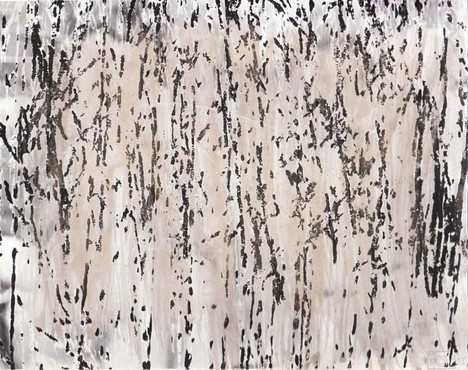 Darkroom Print of a Scratched Negative