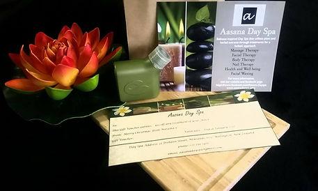 gift voucher for spa