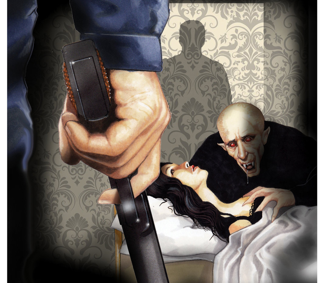 Vampire Of San Vicente illustration