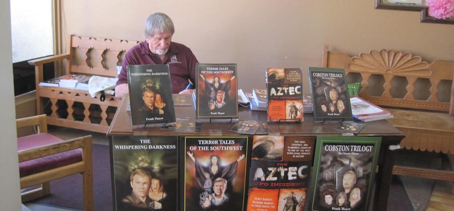 Frank at Coa's Books