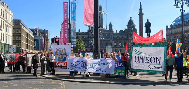 climate strike trade union