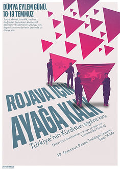 rise up for rojava poster