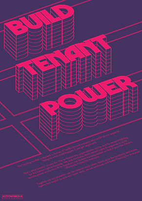 build tenant power poster