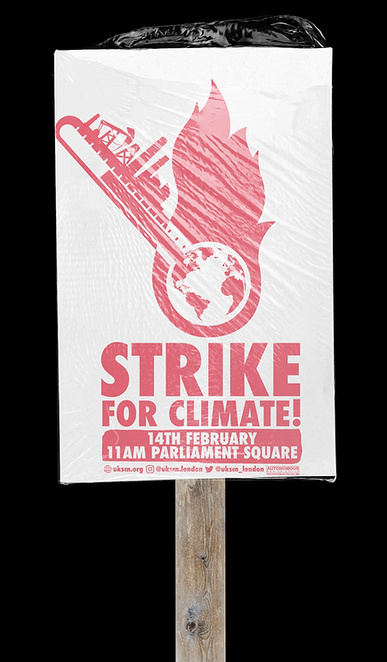 climate strike end capitalism