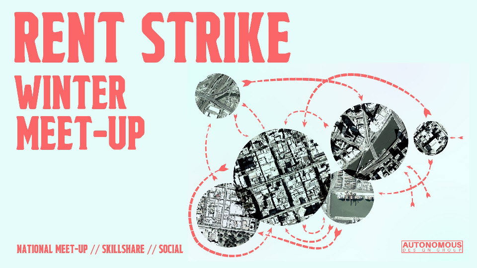 rent strike winter meet up