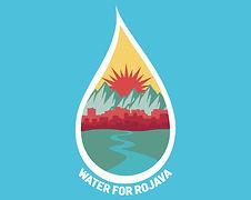 water for rojava logo