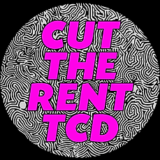cut the rent tcd logo trinity college dublin