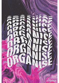 educate agitate organise gramsci poster