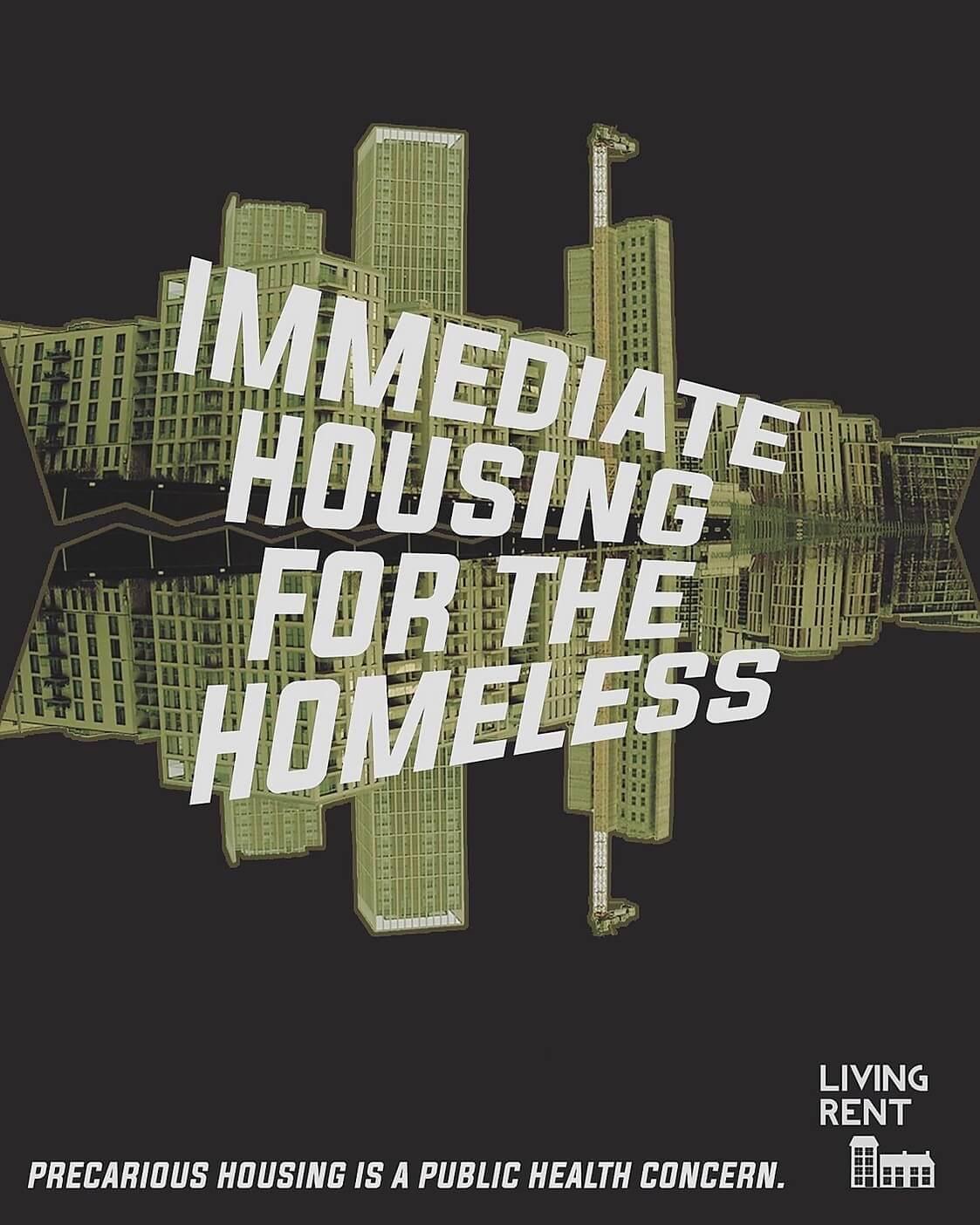 Immediate Housing For the Homeless Poster