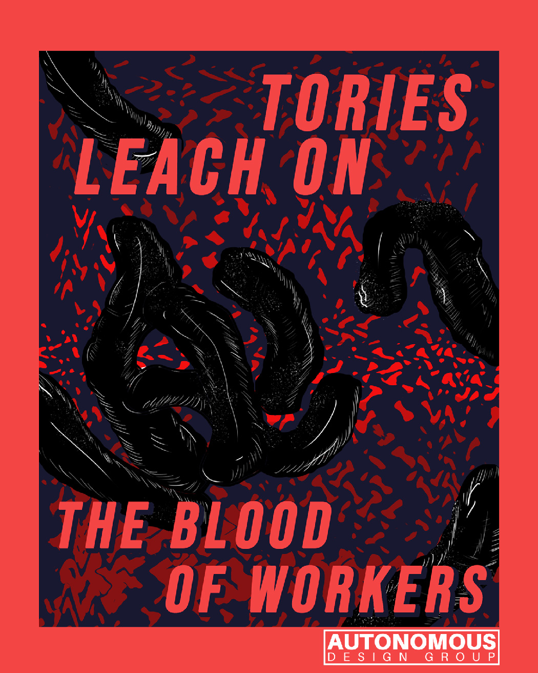 tories leech on the blood of workers