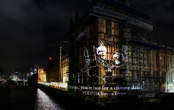 fossil free london COP26 Boris Johnson