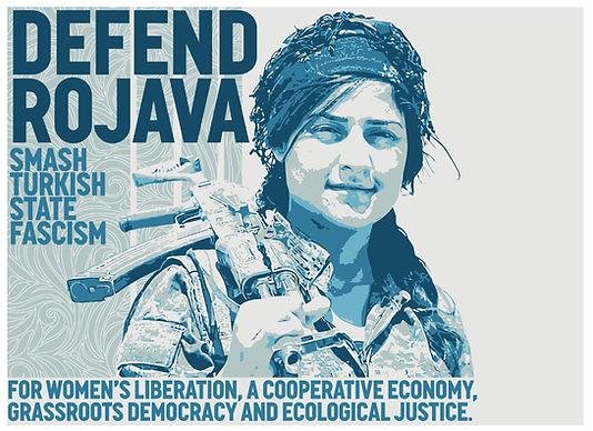 Defend Rojava Poster