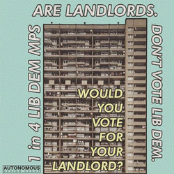 1 in 4 Lib Dems are landlords