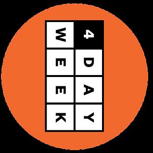 4 day week four day week Logo
