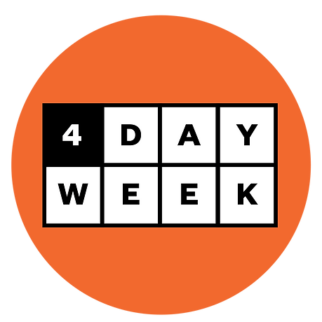 4 day week four day week Logo