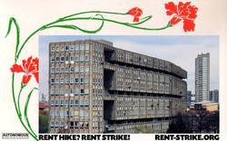 rent hike? rent strike!