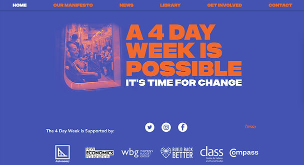 4 day week website four day week website