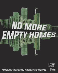 No more empty homes Poster