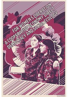 direct democracy rojava poster