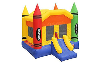 17X13 Crayon Bounce House Rates