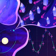 Dark Matter Illustration