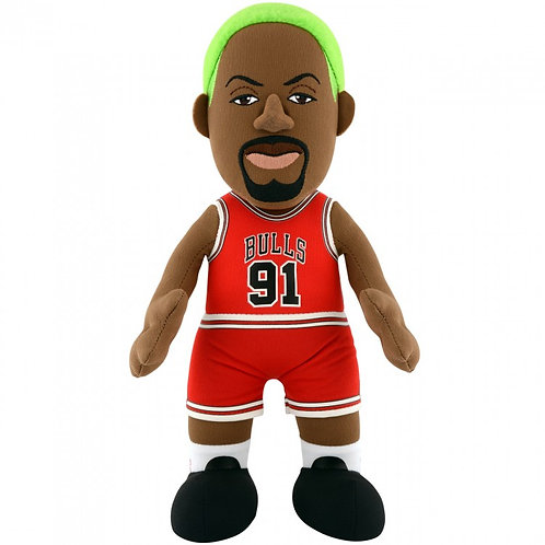 "Chicago Bulls® Dennis Rodman 10"" Plush Toy"