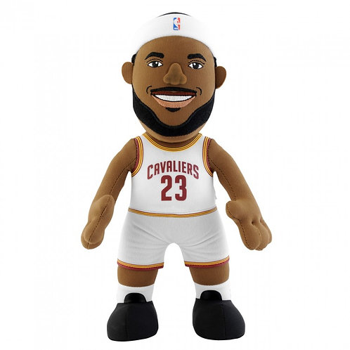 "Cleveland Cavaliers® LeBron James White 10"" Toy"