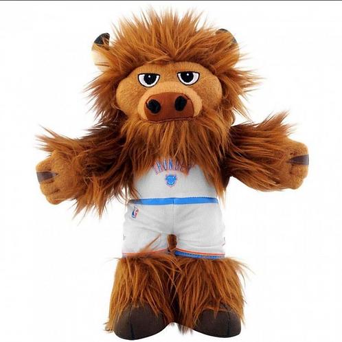 """Oklahoma City Thunder® Rumble Mascot 10"""" Toy"""