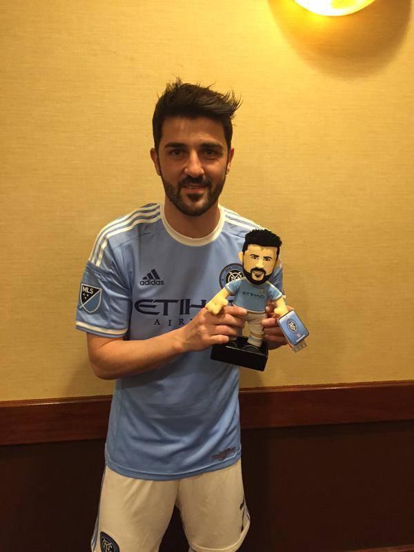 NYCFC David Villa Toy