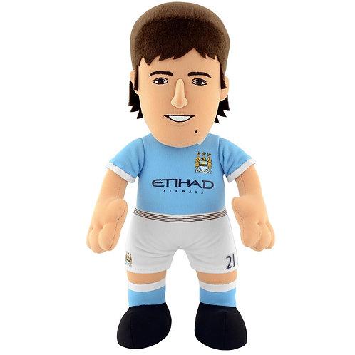 "Manchester City - David Silva 10"" Plush Figure"