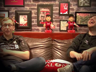 LFC Bleacher Creatures take a starring role on Red Men TV