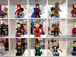 Featured by Getty Images at London Toy Fair